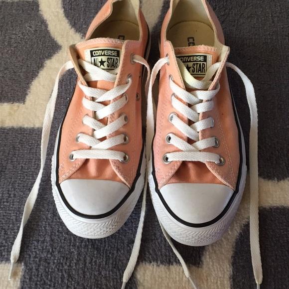 Converse Shoes   Converse Peach Color